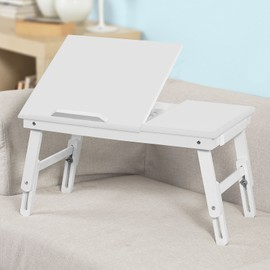 Sobuy fbt02 w support ordinateur portable table de lit - Support pour ordinateur portable lit ...