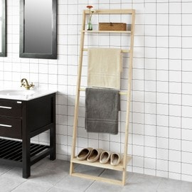 sobuy frg196 n tag re murale style chelle porte. Black Bedroom Furniture Sets. Home Design Ideas