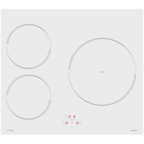 Sogelux table de cuisson induction pvi364b blanche achat et vente - Table de cuisson induction blanche ...