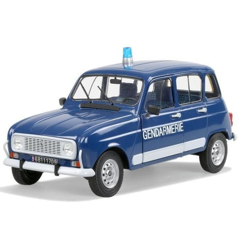 solido voiture de collection renault 4 gendarmerie 1978 1 18ieme. Black Bedroom Furniture Sets. Home Design Ideas