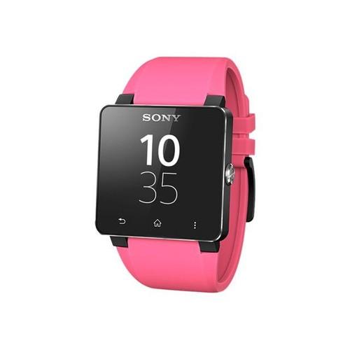 style actuel offre spéciale mignon pas cher Sony Wrist Strap SE20 - Bracelet de montre - rose - pour Sony SmartWatch 2
