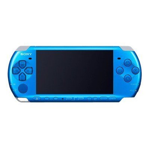 Sony psp slim lite console de jeu portable bleu vibrant pas cher - Console de jeux portable pas cher ...