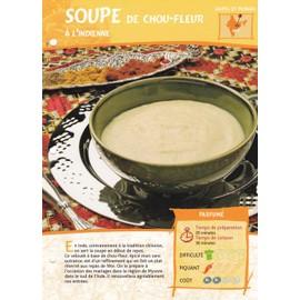 Soupe De Chou Fleur A L 39 Indienne Achat Et Vente Rakuten