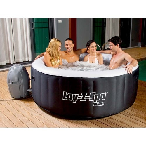 Spa gonflable lay z spa miami 2 4 places pas cher - Spa gonflable 4 places pas cher ...
