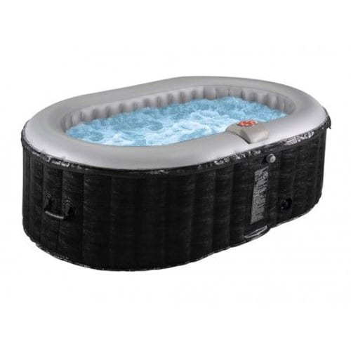 Spa Gonflable Ovale B Lucky 2 Personnes L190xl120xh65cm 80 Buses