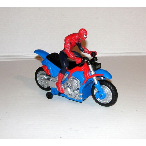 Spiderman et sa moto neuf et d 39 occasion priceminister rakuten - Spider man moto ...