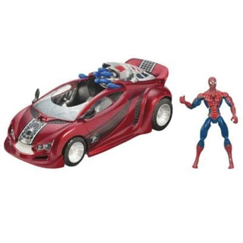 spiderman et sa voiture achat vente de jouet priceminister rakuten. Black Bedroom Furniture Sets. Home Design Ideas