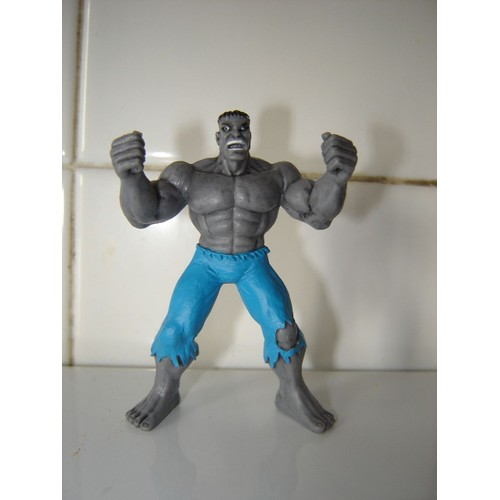 Marvel Select figurine ULTIMATE Hulk GRIS 25 cm  Dream of Figure