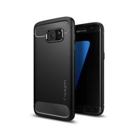 Spigen Coque Spigen Rugged Armor Galaxy S7 Edge no for Galaxy S7 Edge noir