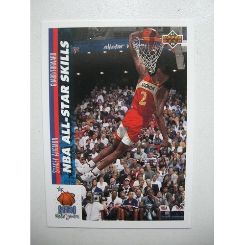 Stacey Augmon Nba All-Star Skills Carte Upper Deck N°478