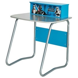 star wars enfant bureau avec tiroir de rangement dimensions 80 x 70 x 57 cm bleu. Black Bedroom Furniture Sets. Home Design Ideas