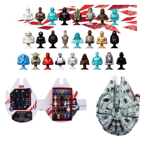 star wars leclerc micropopz 2017 collection complete achat et vente. Black Bedroom Furniture Sets. Home Design Ideas