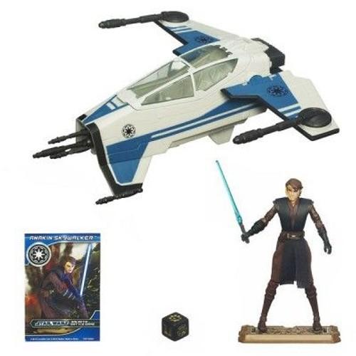 Star wars vaisseau et figurine attack recon fighter et for Interieur vaisseau star wars