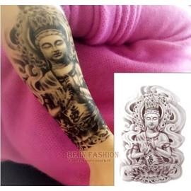 Stickers De Tatouage Temporaire Pour L 39 Art Corporel Bouddha