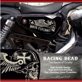 stickers harley davidson sportster psychos pour forty eight seventy two iron 883 superlow 1200. Black Bedroom Furniture Sets. Home Design Ideas