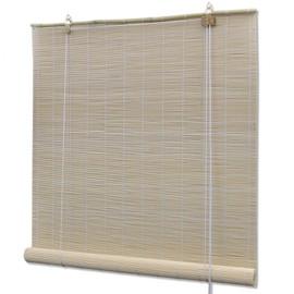 Store Enrouleur Bambou Naturel 150 X 220 Cm Fenêtre Rideau Pare Vue