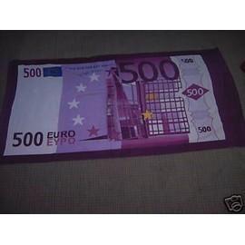 Serviette Styl Billet 500 Euro Neuf Voir