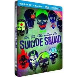 Petite annonce Suicide Squad - Blu-Ray 3d + 2d + 2d Extended Edition + Dvd + Copie Digitale Ultraviolet - Boîtier Steelbook - 35000 RENNES