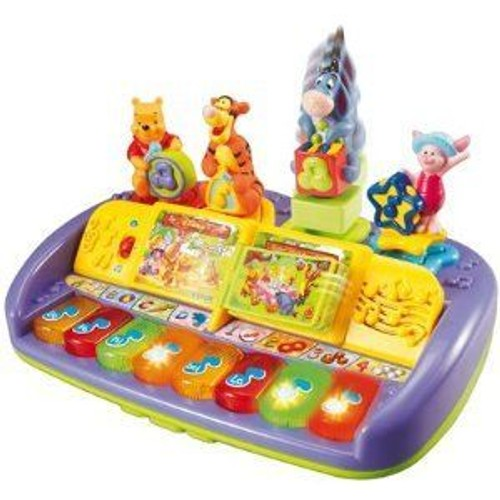 super piano des formes et musical winnie l u0026 39 ourson