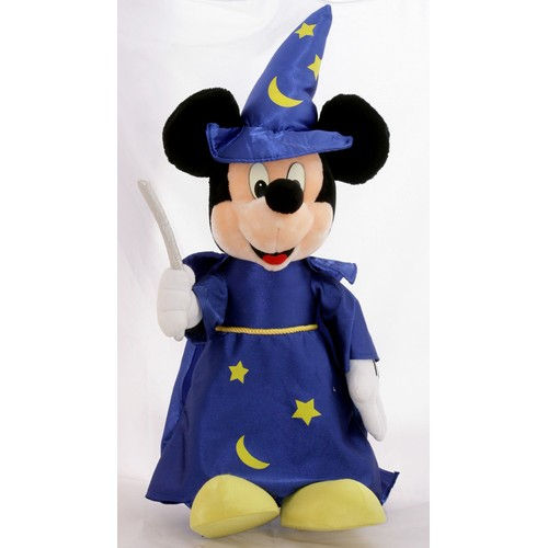 superbe grande peluche disneyland mickey magicien fantasia. Black Bedroom Furniture Sets. Home Design Ideas