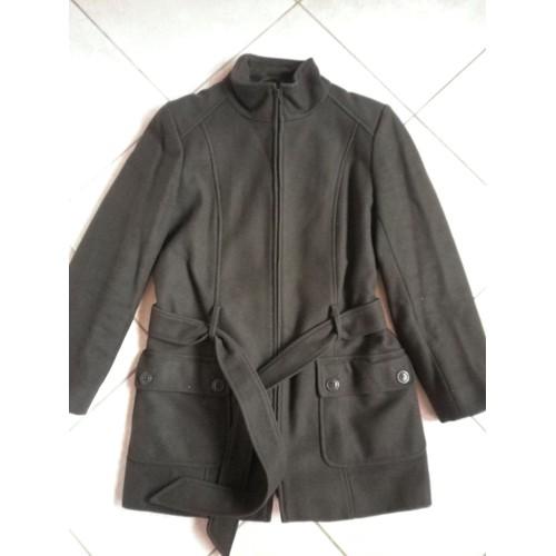 superbe manteau etam taille 38 80 laine achat et vente. Black Bedroom Furniture Sets. Home Design Ideas