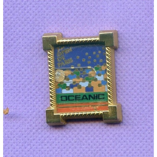 b0be435c5726 Superbe Pins Tennis 7 Eme Open De Paris Oceanic Arthus Bertrand R227