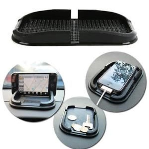 support tapis tableau de bord voiture silicone antid rapant pour t l phone gps. Black Bedroom Furniture Sets. Home Design Ideas