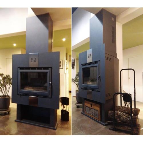 supra valloire 2 cheminette chemin e insert po le pas cher. Black Bedroom Furniture Sets. Home Design Ideas