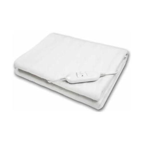 surmatelas chauffant 150x80cm 60 watts 2 positions de chauffe blanc. Black Bedroom Furniture Sets. Home Design Ideas