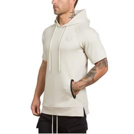 la meilleure attitude 24b60 449c8 Sweat Homme Manches Courtes ?Sweat 3 couleurs mode sport HZ-NSZ124