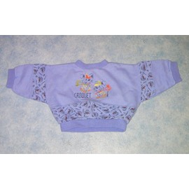 Sweat Violet - Taille 1 Mois