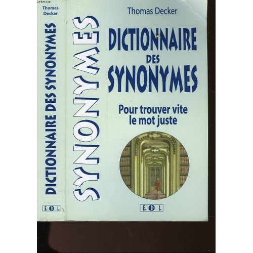 trouver synonyme