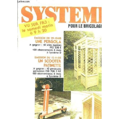 Systeme de pour le bricolage et la maison les brico for Tous les plans de maison