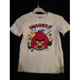 T-Shirt Angry Bird Taille 6 Ans