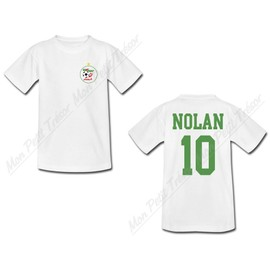 t shirt b b enfant personnalis coupe du monde de football 2014 maillot alg rie tee. Black Bedroom Furniture Sets. Home Design Ideas
