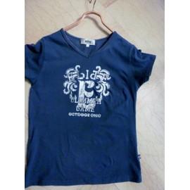 T-Shirt Elite Coton Gris Manches Courtes Taille M