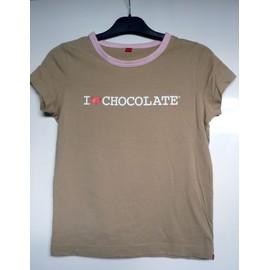 T-Shirt Esprit 'i Love Chocolate'