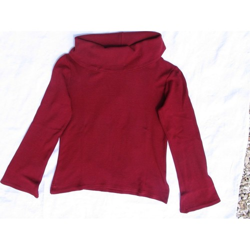 T shirt etam large col roul bordeaux taille 42 achat et vente - Etam pret a porter marseille ...