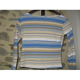 T-Shirt Neuf T38/40 Raye