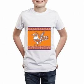 T-Shirt Premium - Oiseau Africain - Enfant Mixte - Blanc - 12 Ans ecc0879ff2a