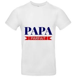 Homme Papa Parfait Shirt Xxl T Premium Blanc n8wk0OP