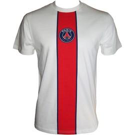 T-Shirt Psg - Collection Officielle Paris Saint Germain - Football Club Ligue 1 - Tee Shirt Logo Blason Maillot - Taille Adulte Homme