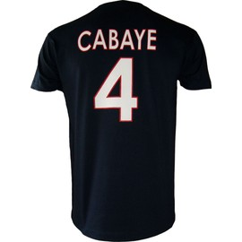 t shirt psg yohan cabaye n 4 collection officielle paris. Black Bedroom Furniture Sets. Home Design Ideas