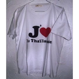 T-Shirt Volx J'aime La Tha�lande
