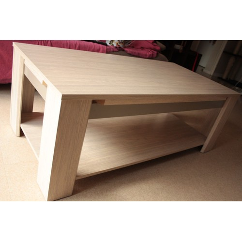 Table basse indo acacia pas cher achat vente priceminister for Table basse pas cher conforama