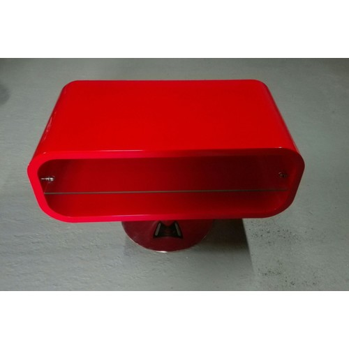 Superbe Table Basse Rouge