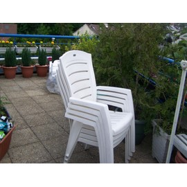 table de jardin octogonale 4 fauteuils pas cher priceminister. Black Bedroom Furniture Sets. Home Design Ideas