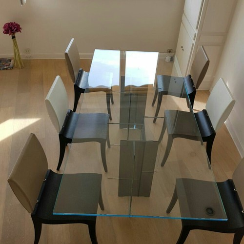 table de repas roche bobois achat vente de mobilier priceminister rakuten. Black Bedroom Furniture Sets. Home Design Ideas
