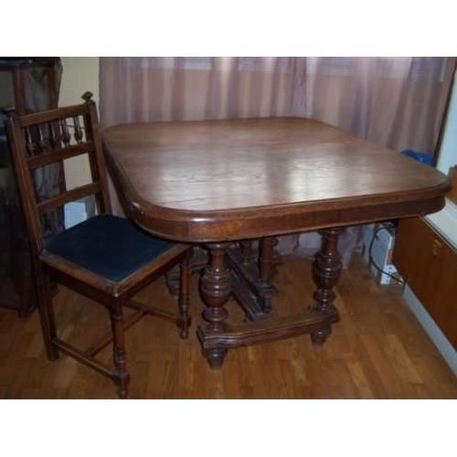 table et chaises henri 2 achat vente de mobilier rakuten. Black Bedroom Furniture Sets. Home Design Ideas