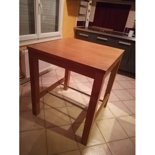 Table Haute Bois Massif Achat Vente De Mobilier Rakuten